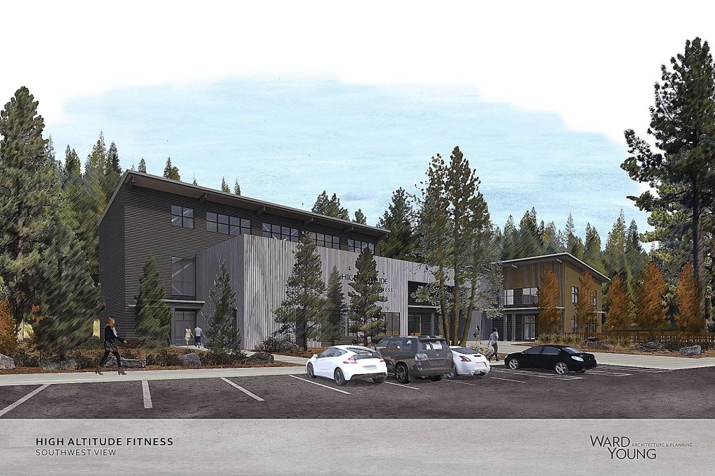 High Altitude Fitness broke ground this week on a climbing gym and comprehensive exercise facility on Donner Pass Road, across from Truckee High School.