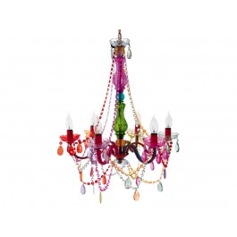 Leitmotiv Colourful Chandelier Gypsy
