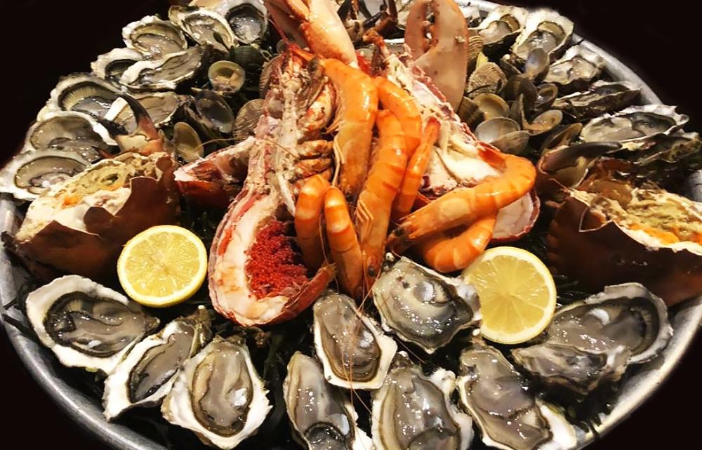 eat the best plateau de fruits de mer