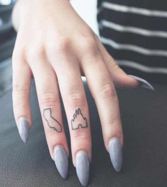 Tiny Disney Tattoos