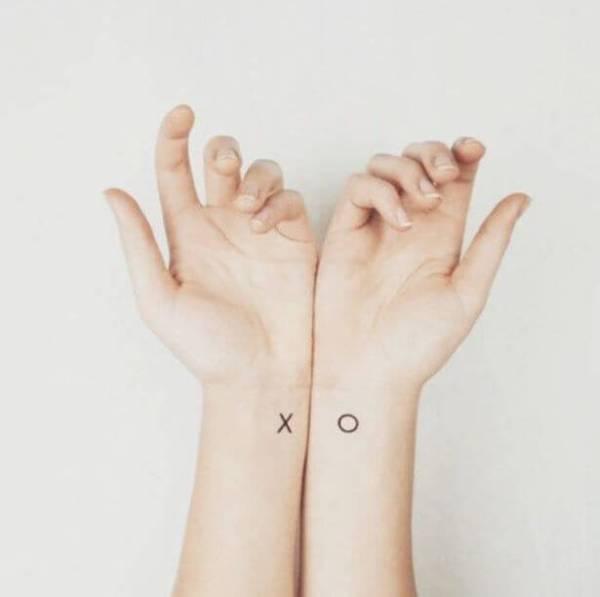 Крошечные Соответствующие Татуировки