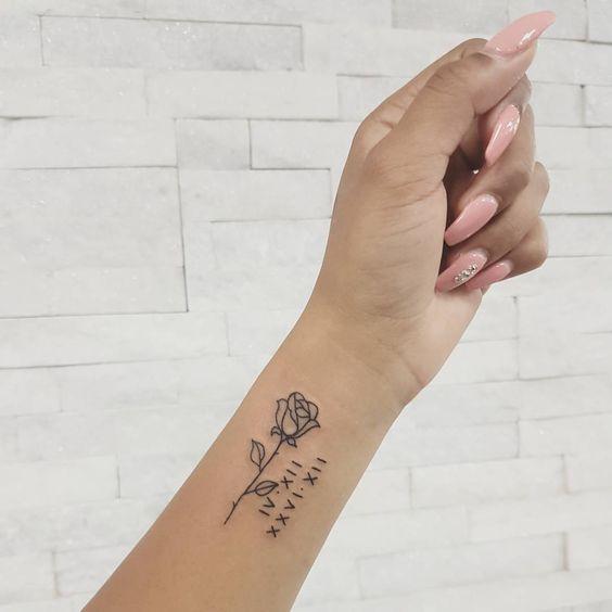 1001 Ideen Und Modelle Fur Schone Kleine Tattoos