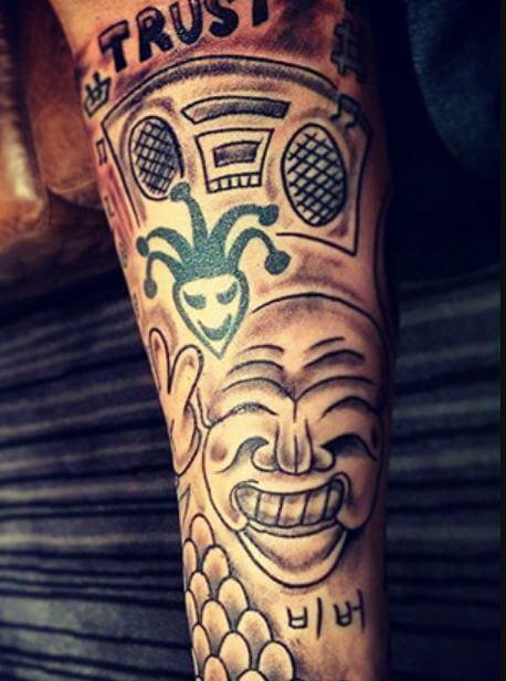 Татуировки Джастина Бибера