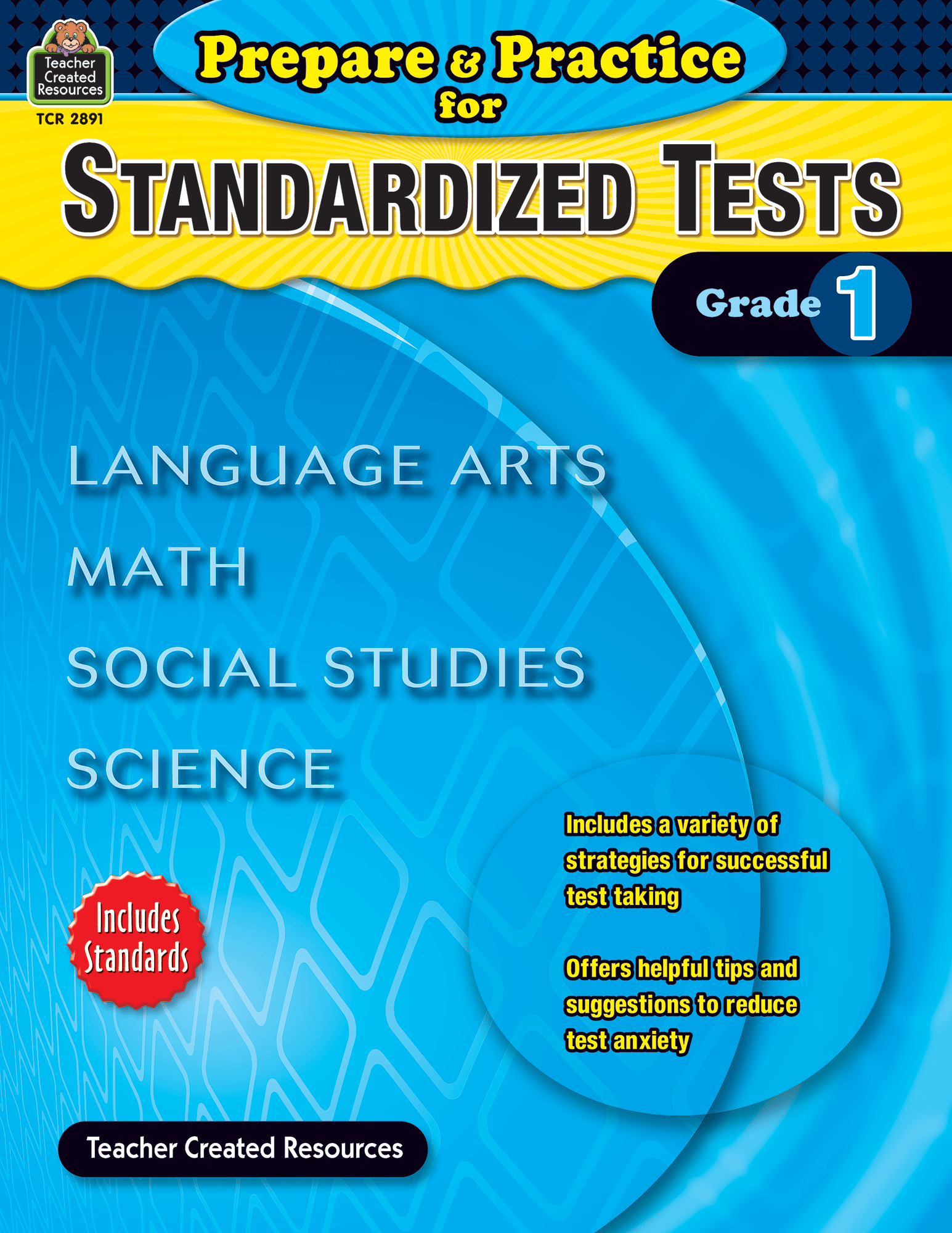 Prepare Amp Practice For Standardized Tests Grade 1
