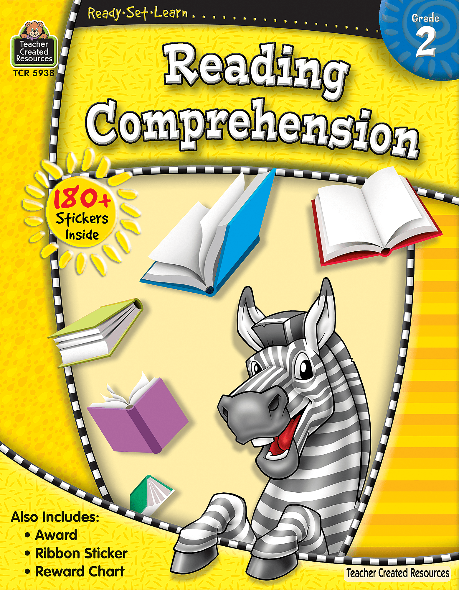 Ready Set Learn Reading Comprehension Grade 2
