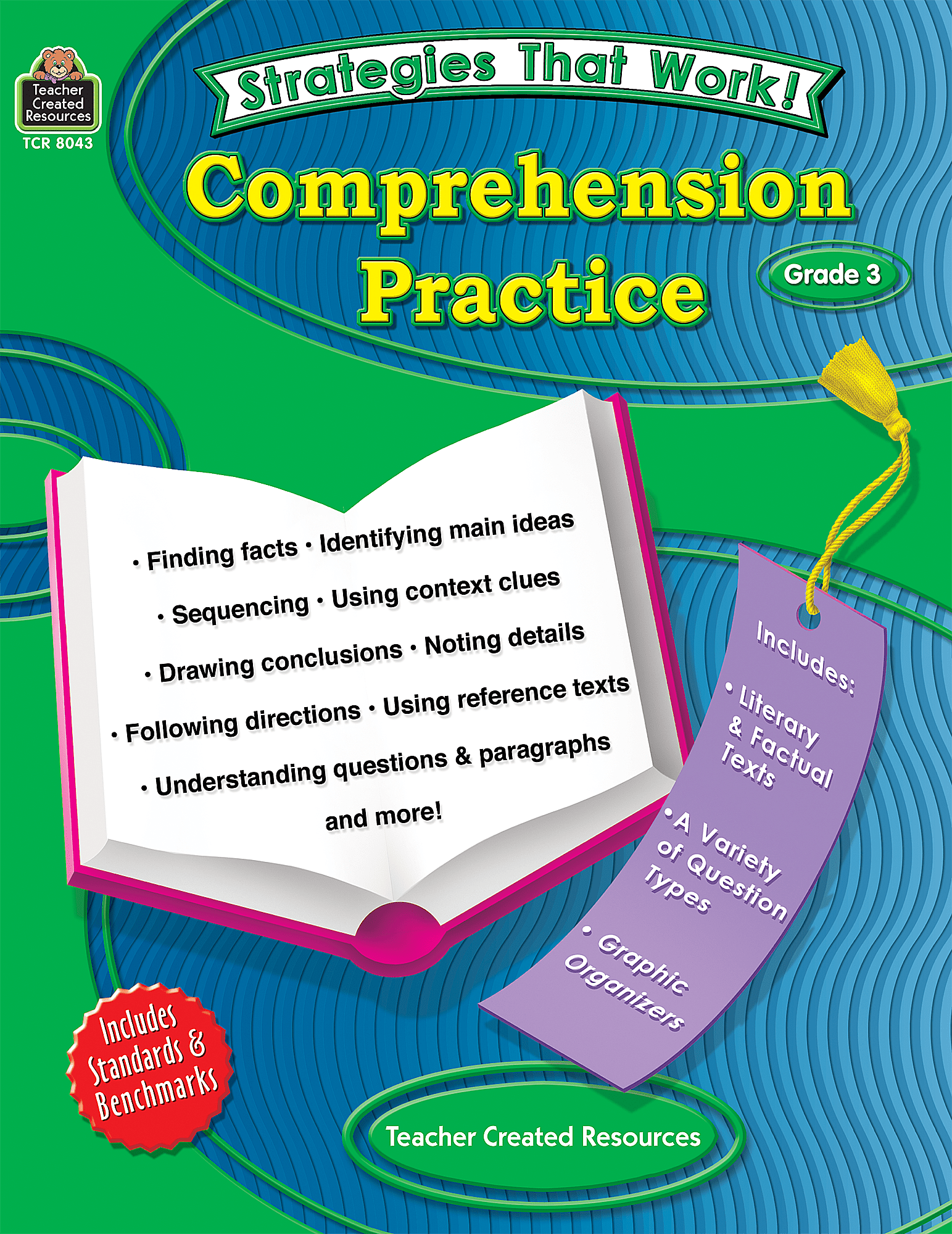 Strategies That Work Comprehension Practice Grade 3