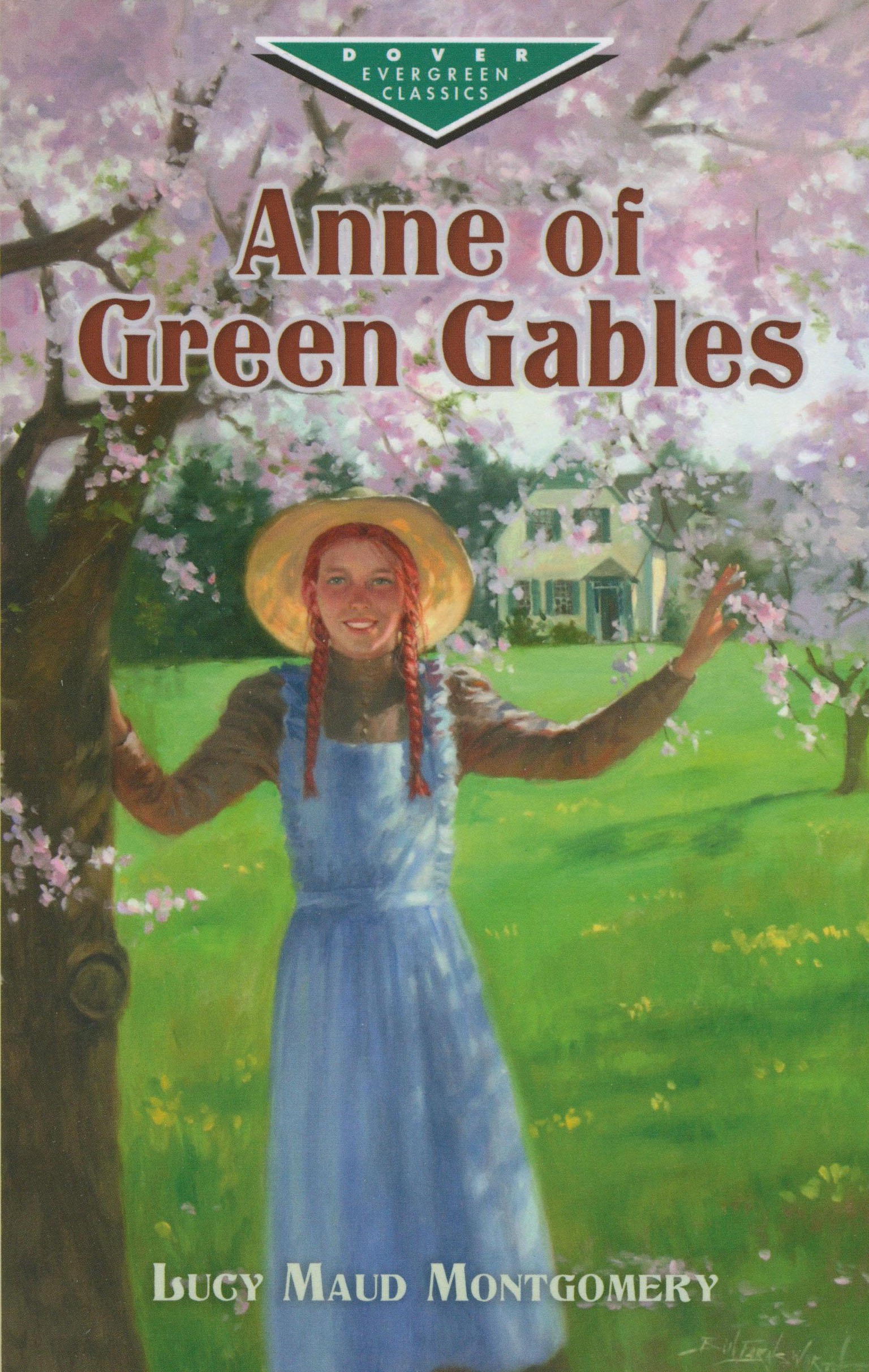 Anne Of Green Gables Paperback Book Hl710l The Classics