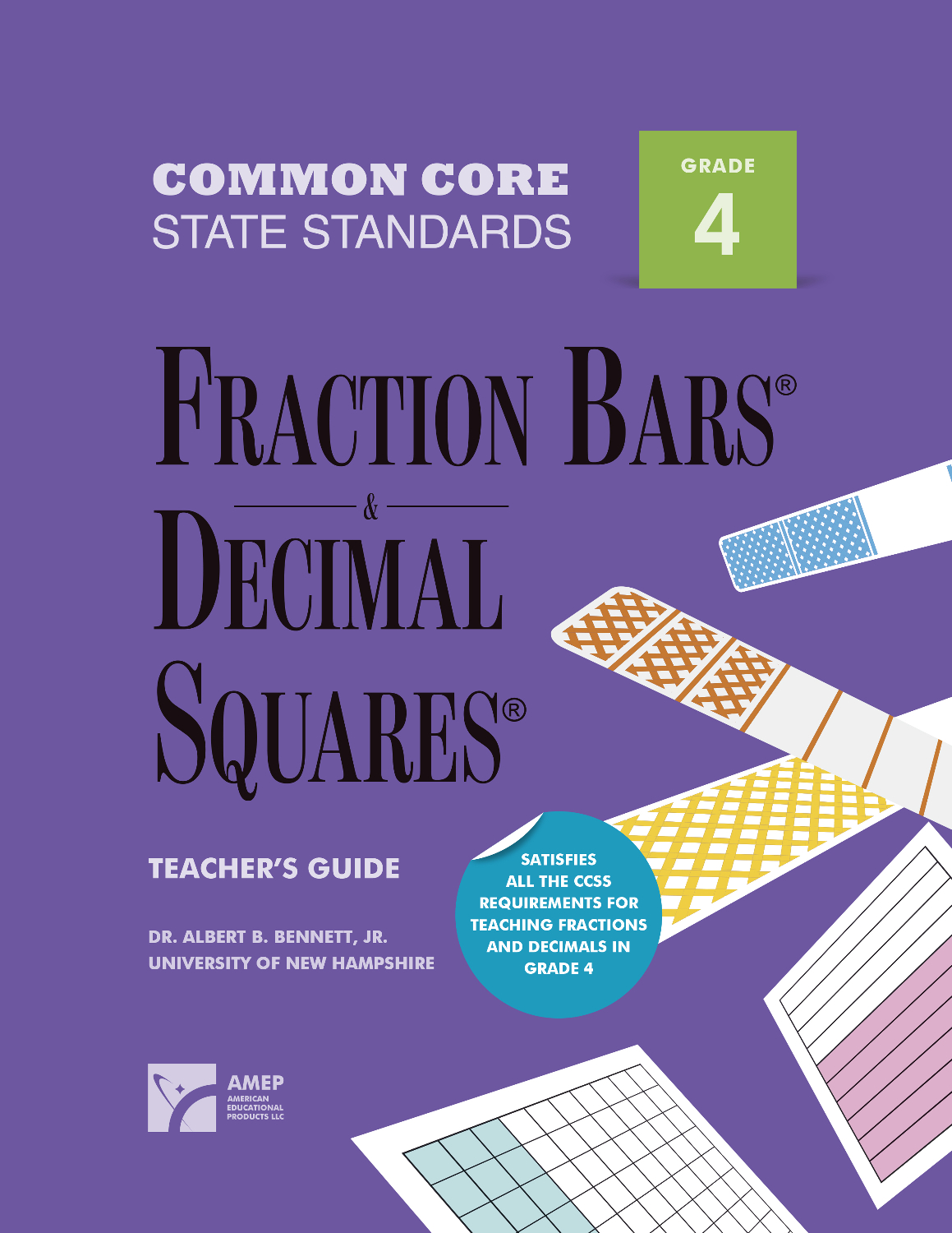 American Education Common Core State Standards Fraction Bars And Decimal Squares Teacher S