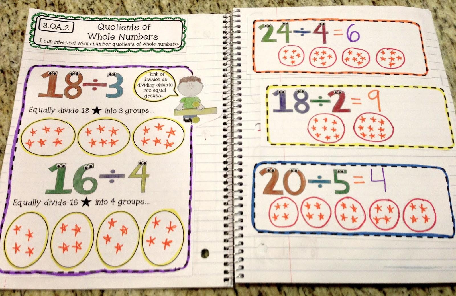 Math Worksheets 3rd Grade Division