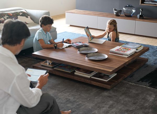 c3 coffee table strong solid wood