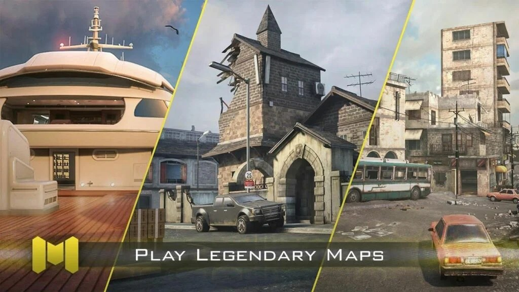 Download Call of Duty Mobile Maps