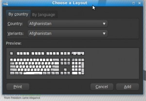 Choose a layout