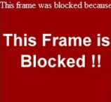 "Solve or Fix ""Frame is Blocked Because of Insecure Content"" in Chrome and Other Browsers"