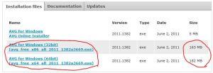 free avg antivirus offline installer download