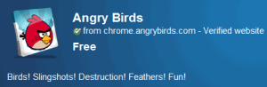 Play angry birds online google chrome web store app