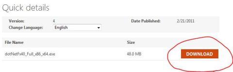 .net framework full standalone offline installer