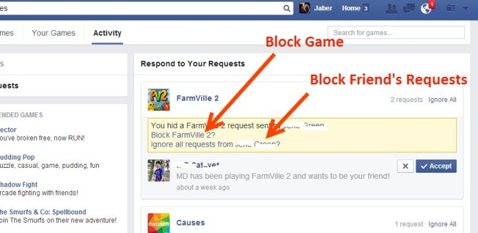 Block Game or Friend
