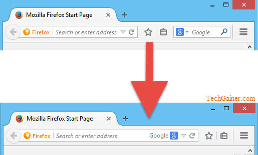 Combine Firefox Address Bar and Search Bar into One Like Chrome