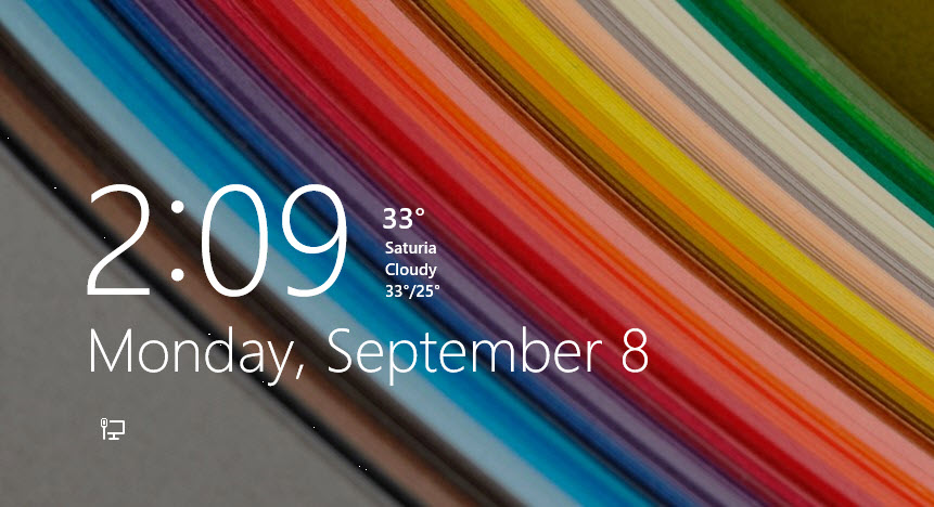 How to Show Weather on Windows 8 or 8.1 Lock Screen
