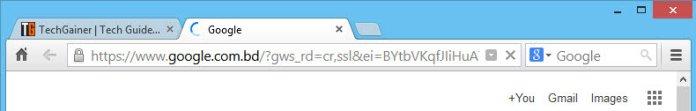 Chrome theme for Firefox