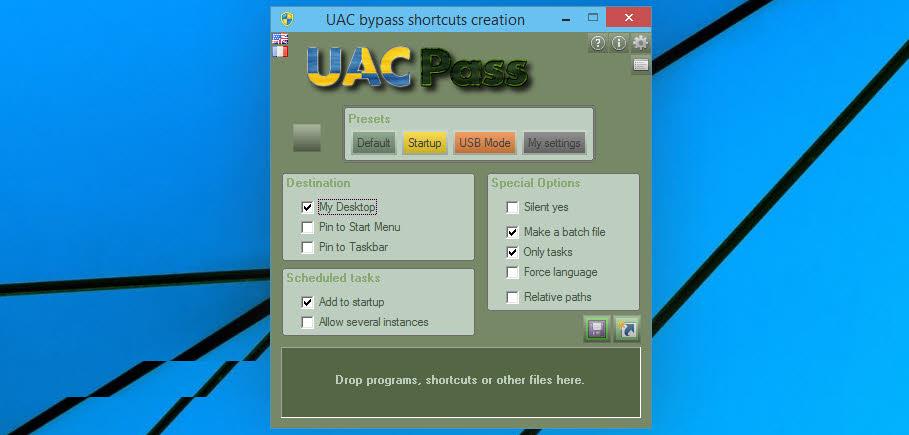 UAC Pass