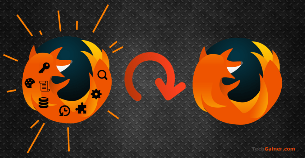 Complete reset Firefox browser