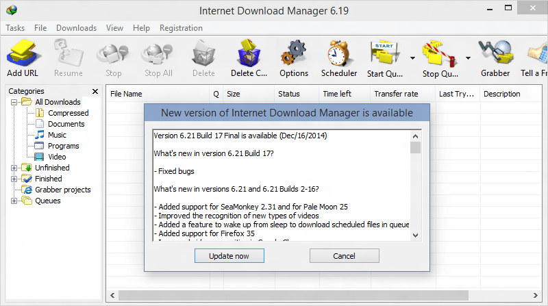 How to Disable Internet Download Manager Automatic Update Check