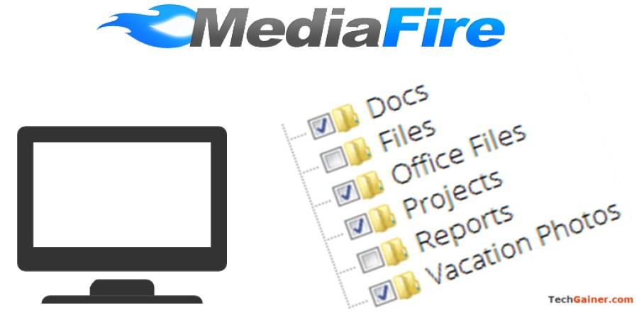 Sync particular folders in MediaFire Desktop