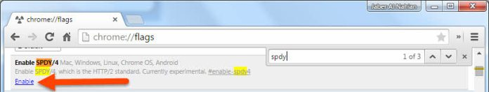 Enable SPDY/4