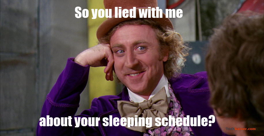 """Find Out the Sleeping Schedule of Someone using """"Sleeping Time"""""""