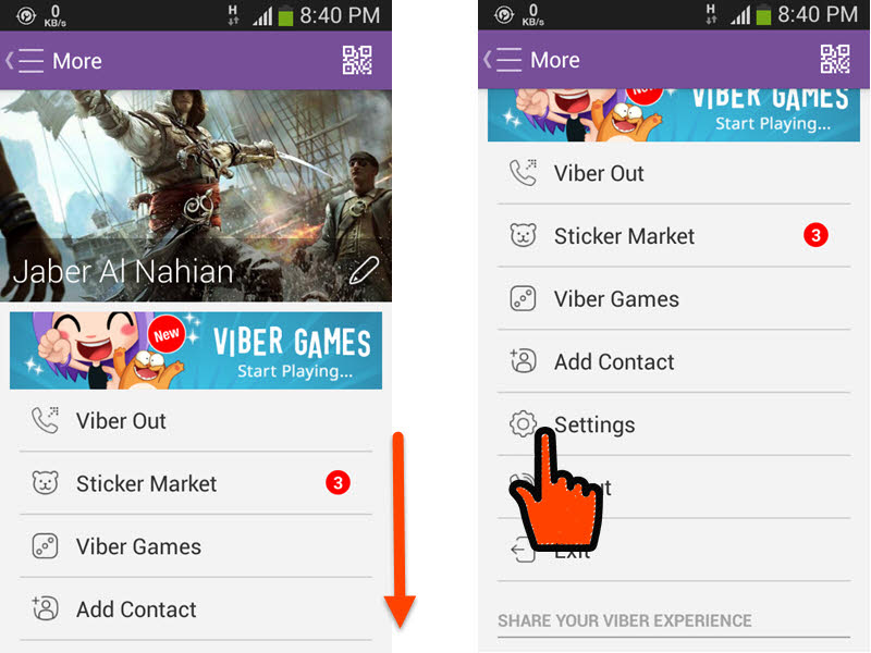Stop Viber from Sending 'Seen' in Chat even if you Read