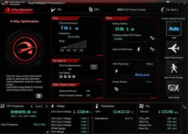 ASUS AI Suite NZXT alternative