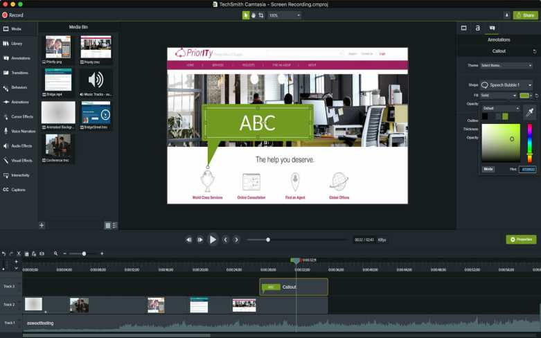 Alternativa de Camtasia Windows Movie Maker