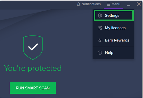 Disable Mail Shield Avast High CPU Usage