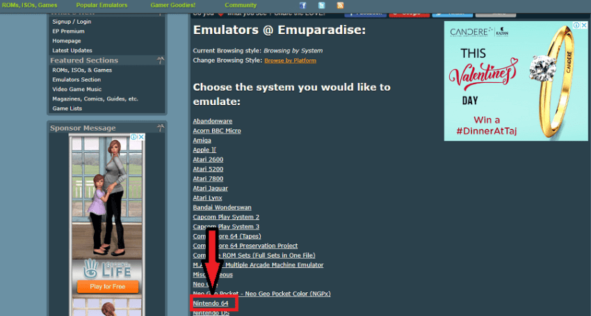 How To Play Video Games Mobile Or Computer With Emuparadise