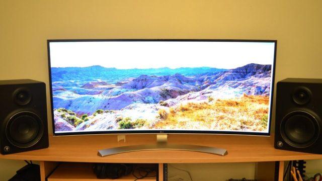 LG38UC99 Curved monitor