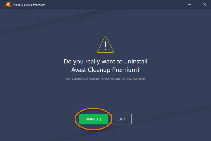 Removing Avast Cleanup Avast High CPU Usage