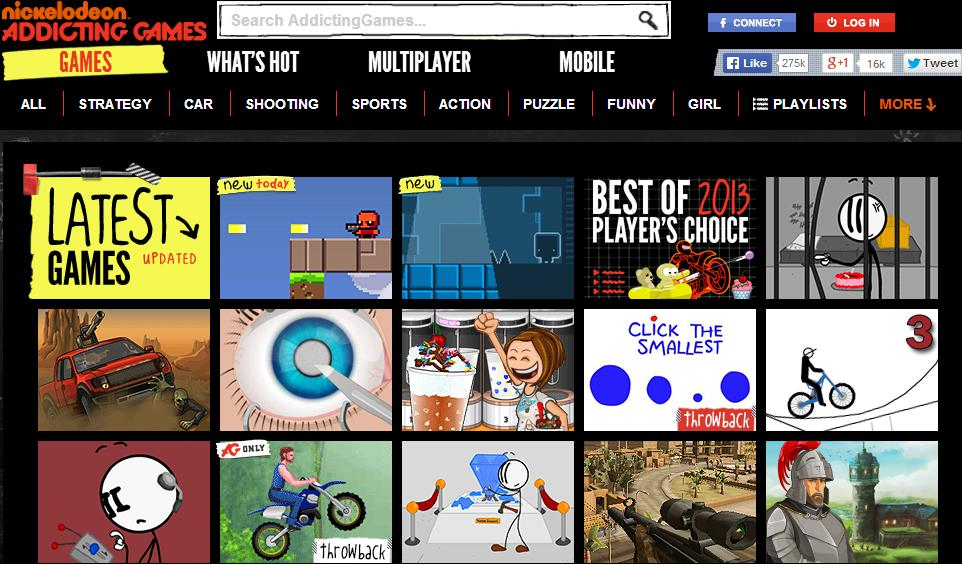 10 Best Websites To Play Online Flash Games For Free