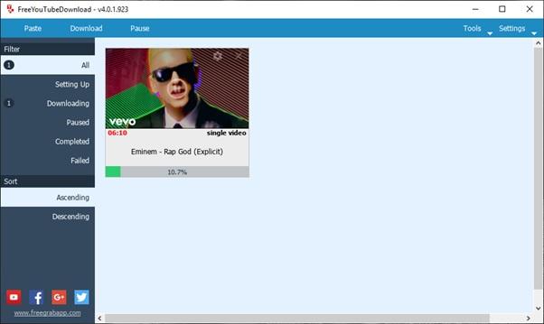 click download