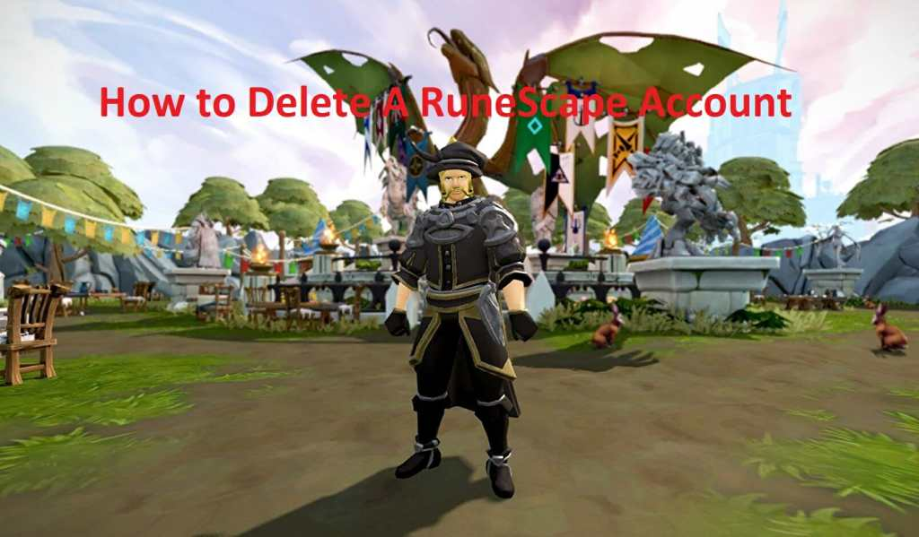 how to delete a runescape account