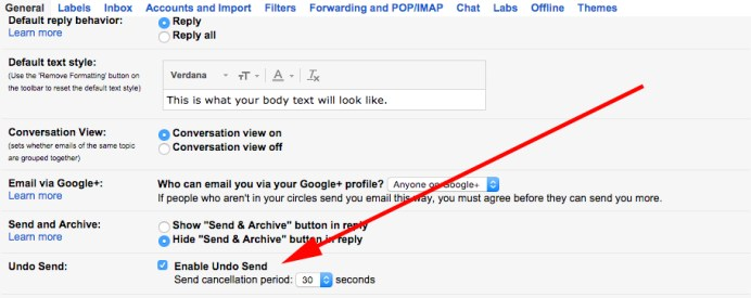 "en - ""Undo send"" mail in Gmail, activate and use this awesome useful feature"