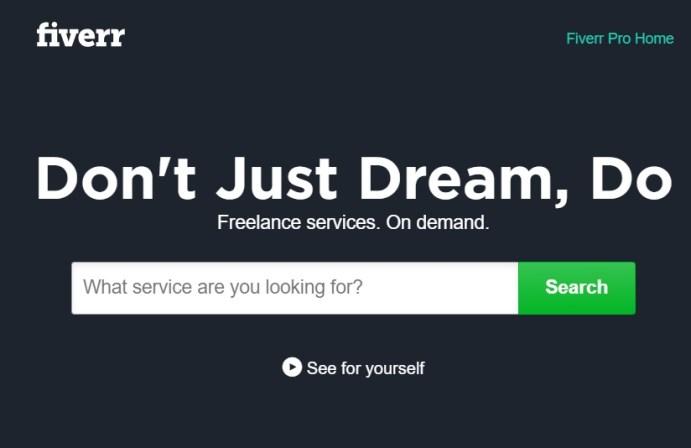 fiverr online jobs