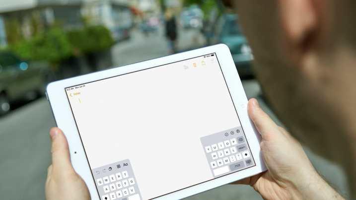 el teclado del ipad no funciona teclado dividido