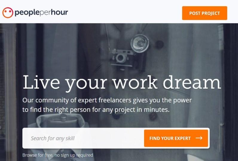 people per hour online jobs site