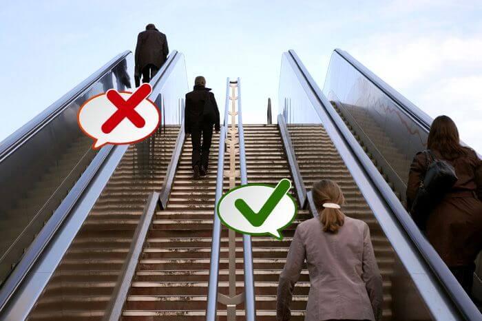 take stairs