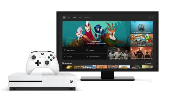 xbox games on tv