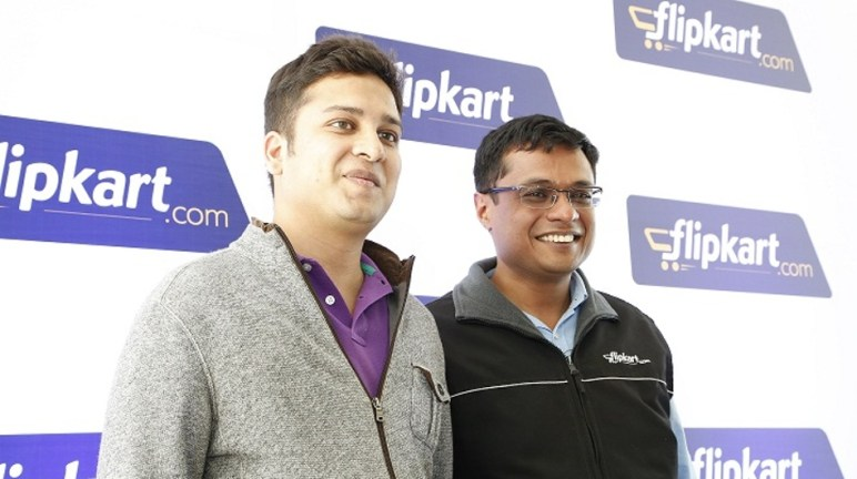 Flipkart co-founders, Binny Bansal and Sachin Bansal