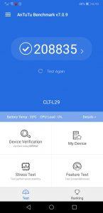 Huawei P20 Pro benchmark test -TechJuice