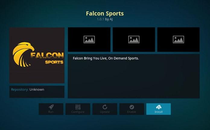 Boxing Kodi Addons - Falcon Sports
