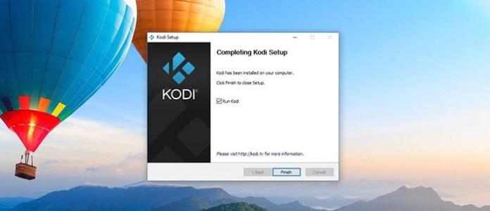 Install Kodi on Windows - Installation 5